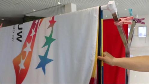 熨烫国旗需6个环节12道工序:每一份工作都不简单!