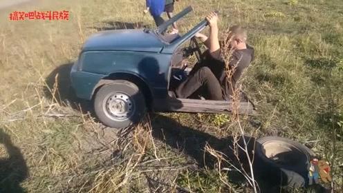 俄式跑车:敞篷、两座、前驱,驾驶在爱车上的小哥太潇洒了
