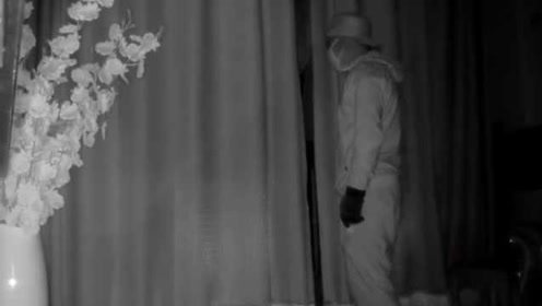男子入室盗窃全程被录下,离开10秒后女主人发现家里进过人