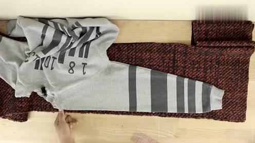 在家自制时尚大方的毛衣,做法很简单,看一遍就会了