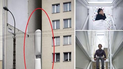 """位于夹缝中的""""豪宅"""",最宽处仅有1.2米,豪华装修惊艳世界!"""