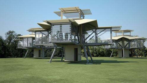 3个能变形的房子,户型面积都能改变,这才是未来住房