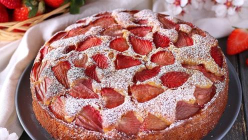 """史上最详细的""""草莓蛋糕""""教程:就算手被二哈啃过都能学会!"""