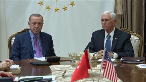 土耳其宣布暂停在叙军事行动:这不是停火
