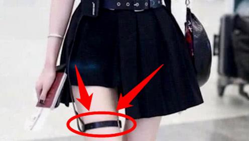 """为何街上的有些女生,都爱在腿上绑黑色的""""丝带""""?原来有这么多""""作用""""!"""