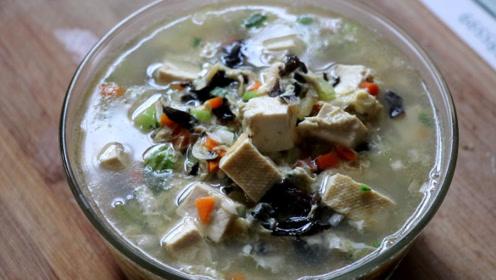 虾皮豆腐汤,几块钱做一大锅,营养又滋补,天天喝都不腻