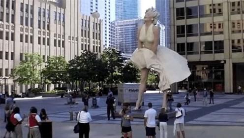 这座雕像花500万建造,却不到一年就被拆除,原因让人无语