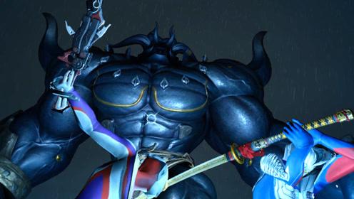迪迦奥特曼冒险记:深夜和赛罗乱逛,结果碰到了一个巨人怪兽