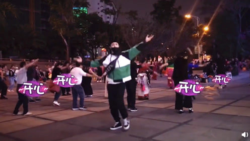 爆笑!张艺兴戴口罩跳广场舞嗨到飞起:假装没人认识我