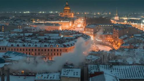 全球最美的寒冬美景:看尽冰封的圣彼得堡,再赏壮观驯鹿迁徙