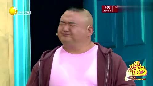 小品《当外卖来敲门》,贾冰见偶像鹿晗长变样,面部表情太搞笑了图片