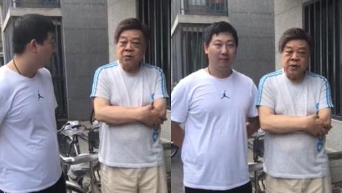 赵忠祥与粉丝合影发牢骚:最后一个,卖画出事惹官司还得找我