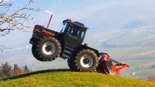 """""""疯狂""""的拖拉机,印度牛人改装1万马力!一脚油门场面够震撼"""