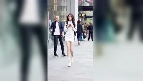 街拍时尚美女,真是有范!