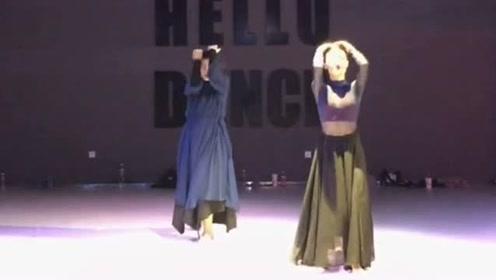 这才是真正的实力舞者,古风与爵士的完美融合,张弛有度的完美体现!