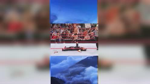 WWE:大布打败送葬者,还没来得及开心,就被人打得落荒而逃