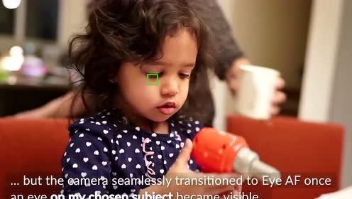 索尼实时自动对焦跟踪演示