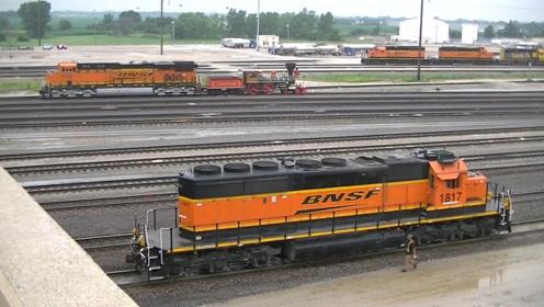 美国没有高铁?铁路事故率堪称世界第一,铁路基建真差劲!