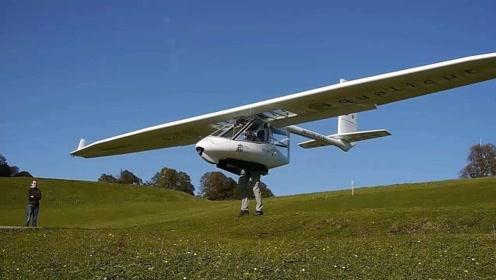 速度还没汽车快,此国发明最呆萌的飞机,敌人忍心打下来吗?