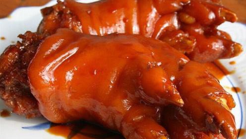 非洲老板来到中国,在街边吃了一个猪蹄,很迷茫:这是猪蹄吗