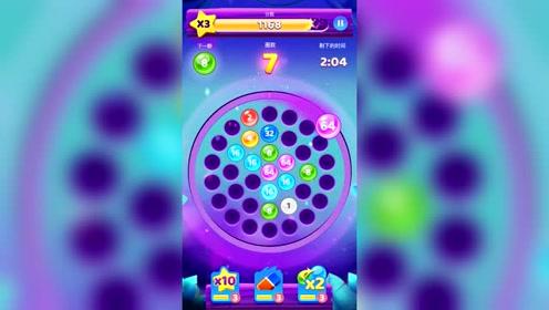 数字泡泡,能跑出都是双数的,有那么巧的吗