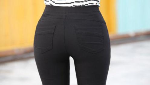 简单的裤子,穿出不一样,时髦又美嫩,尽显优雅时尚