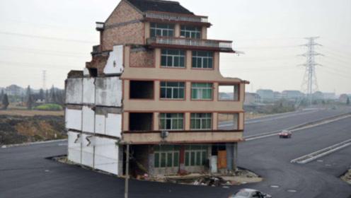 """中国最强""""钉子户"""",给100亿也不拆,走进屋内一看:这谁敢动!"""