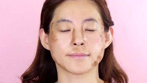 女子五官一般般,化个韩式妆容,想不到这么漂亮