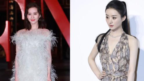 同岁的赵丽颖和刘诗诗产后相继复工 两人极速瘦身状态开挂