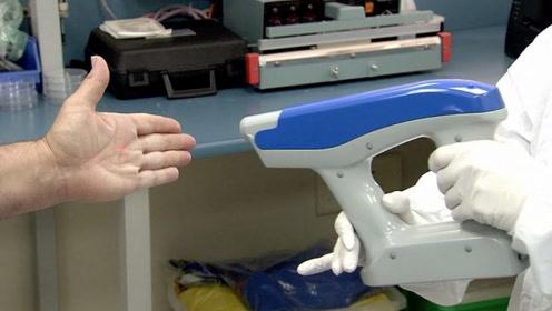 """能救人的""""枪"""",模拟人造皮肤,伤口愈合加快5倍"""
