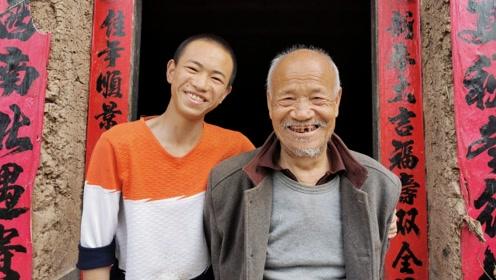 山村留守少年与外公相伴14年,成绩优异,梦想以后当将军