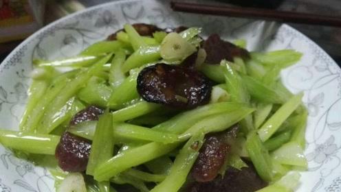 芹菜中最有营养的部分,可能被你随手丢掉,常吃可清热解毒、降低血压
