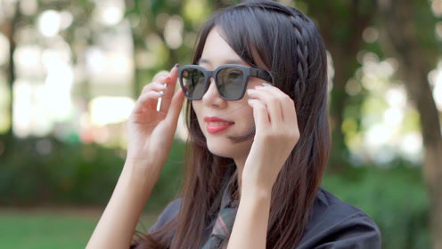 嘿,想听眼镜唱歌吗?这有一副Bose智能音频眼镜