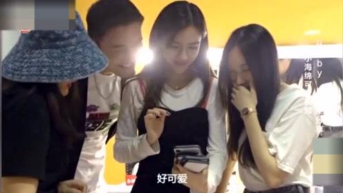 杨颖和儿子视频被示爱笑开花,小海绵大喊:baby加油工作