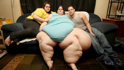全球最胖的女人!体重堪比一头小大象,自称从不考虑过减肥!