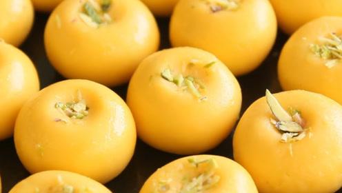 芒果馒头的做法,和面不放一滴水,蒸出来香甜松软,比馒头好吃