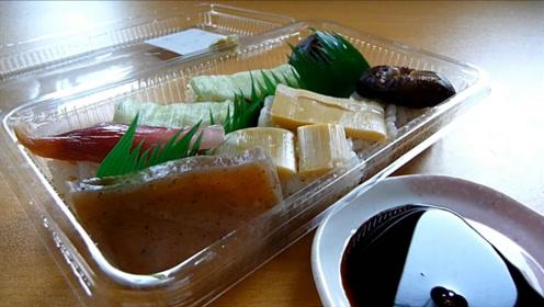 试吃日本寿司,看似很普通,其实很精致,味道超棒,真好吃