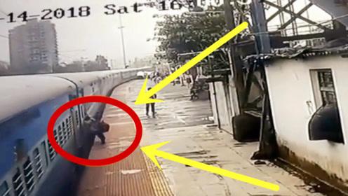 死亡列车!男子惨被火车拖行数百米,调出监控并不简单!