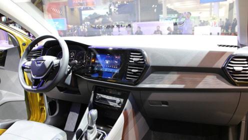 大众新款SUV,捷达VS7正式下线,尺寸和标准版途观接近,或11万起