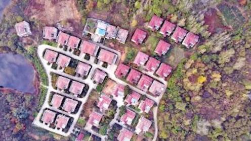 业主崩溃!河南景区73套违建别墅被没收 买房花了300多万