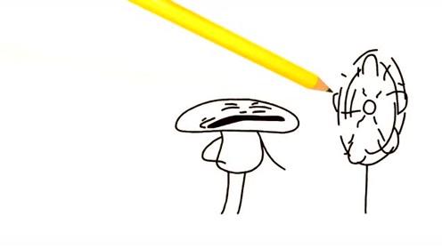 创意搞笑简笔动画,铅笔人从快进人生竟穿越了