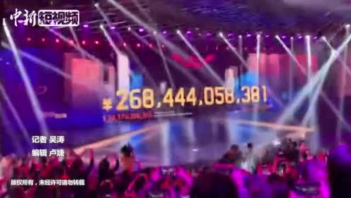 """2019年""""双11""""总成交额2684亿元比2018年多549亿元"""