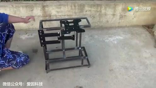 给电脑机箱焊一个这样的支架,究竟有何妙用?