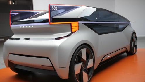 """吉利沃尔沃推出""""大床车"""",拥有全景天窗,全程自动驾驶"""