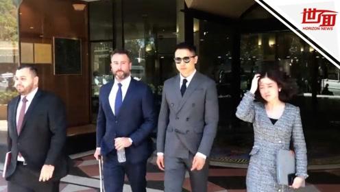 高云翔经纪人出庭:女当事人在KTV和王晶接吻 像一对儿