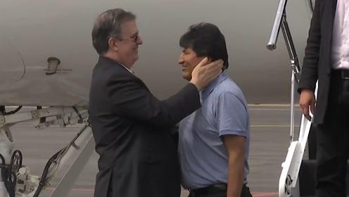 空军飞机亲自来接 莫拉莱斯终抵墨西哥