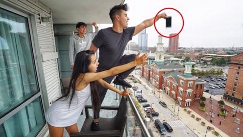 二哥毫无求生欲,把二嫂的手机直接从楼上扔下去,结局大反转可还行