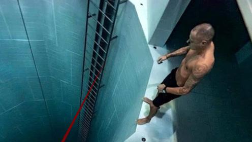 世界上最深的泳池有多恐怖,来花2000元体验一下,游客多到爆满!