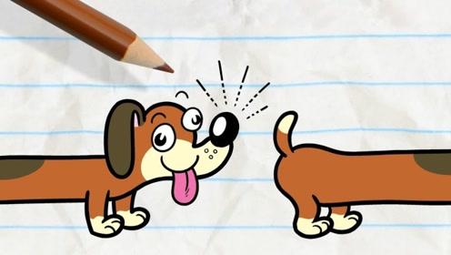 """小蓝和小橙真是太可怜了,本来是去遛狗,没想到被自己的狗狗""""教训""""了"""