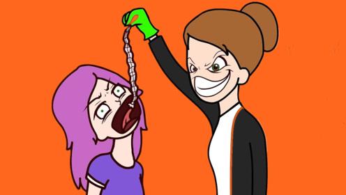 为了强制女孩减肥,亲妈逼女儿活吞虫子,害她差点丢了小命!